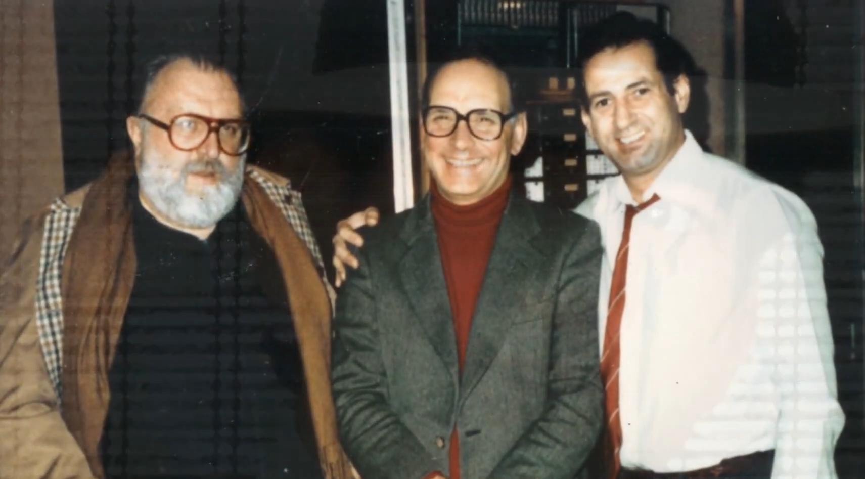 Sergio Leone, Ennio Morricone, Gheorghe Zamfir.jpg